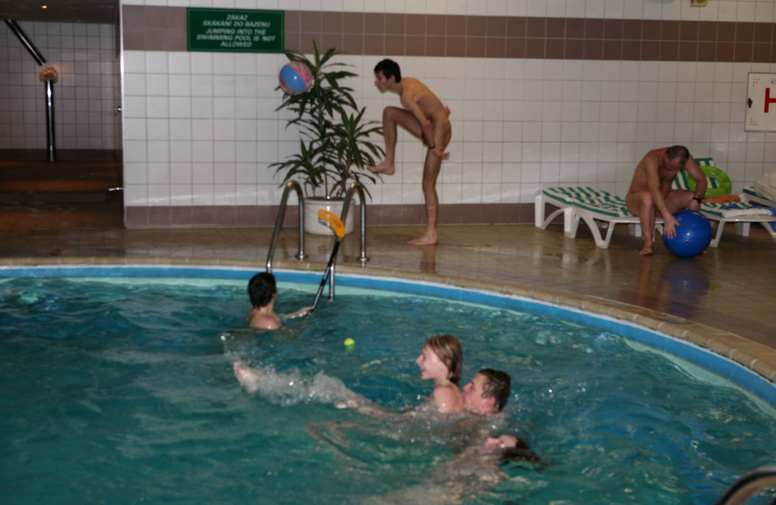 Nudist Pics 2010 Gym and Sauna - 1