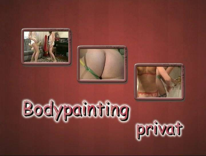 Bodypainting Privat - Poster