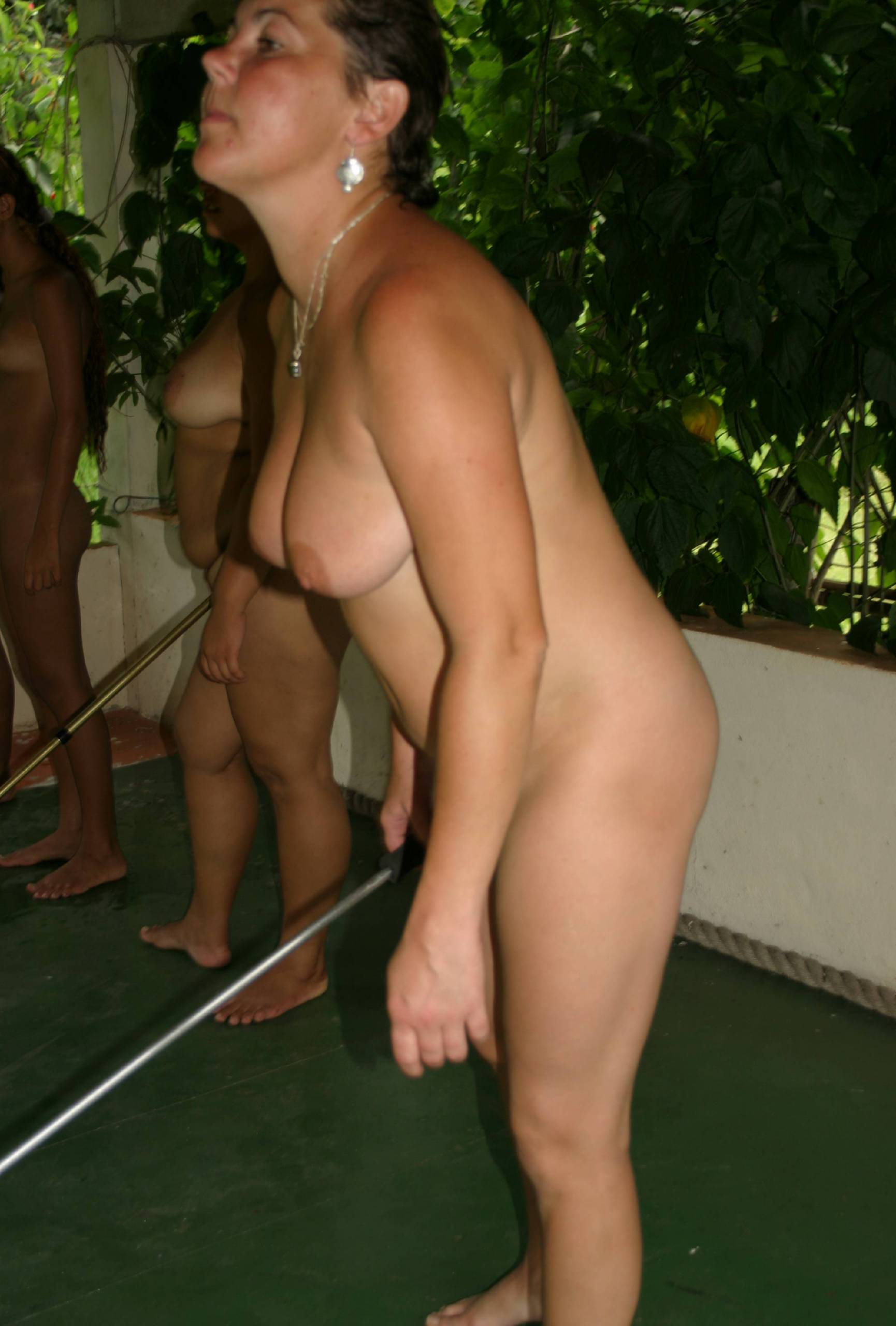 Brazilian Floor Push Game - 2