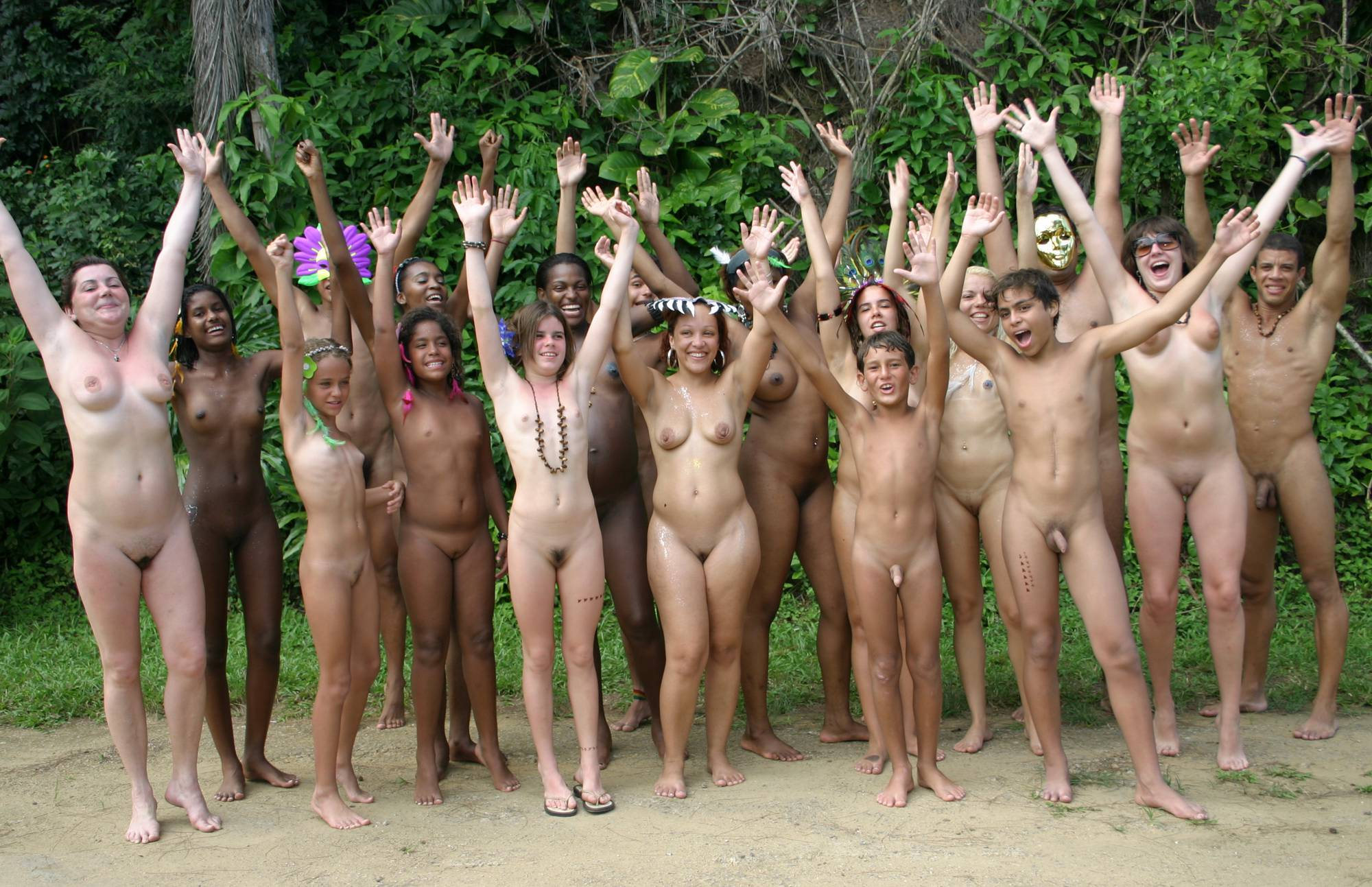 Nudist Photos Brazilian PN Banner Group - 2