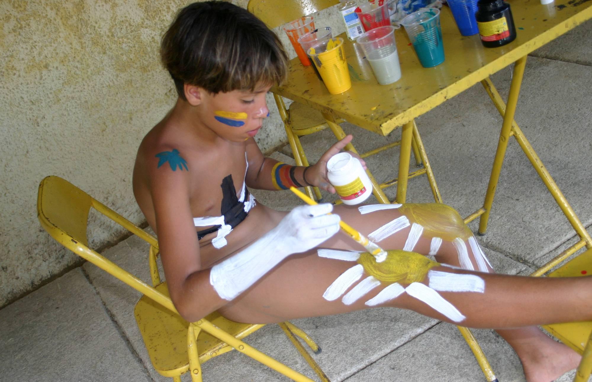 Nudist Pics Brazilian Self Body Paints - 1