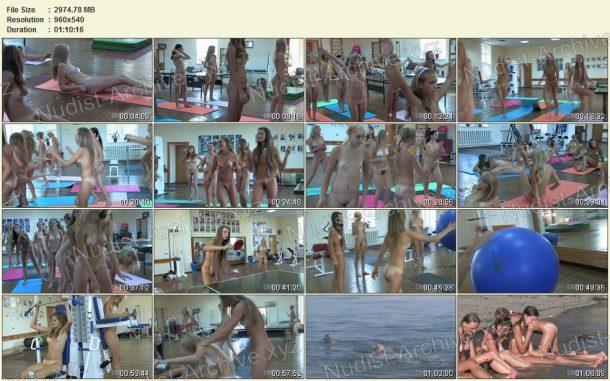Shots Teen Nudist Workout 2 1
