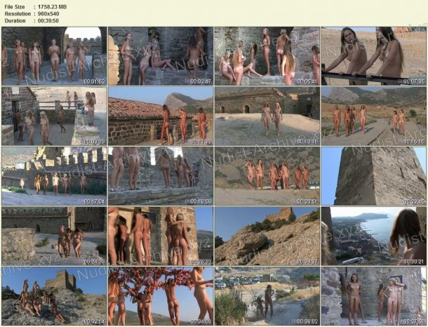 Snapshots Ancient Castle Nudism 1
