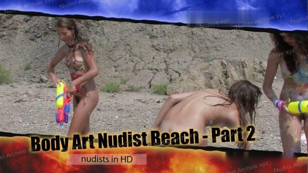Body Art Nudist Beach - Part 2 cover