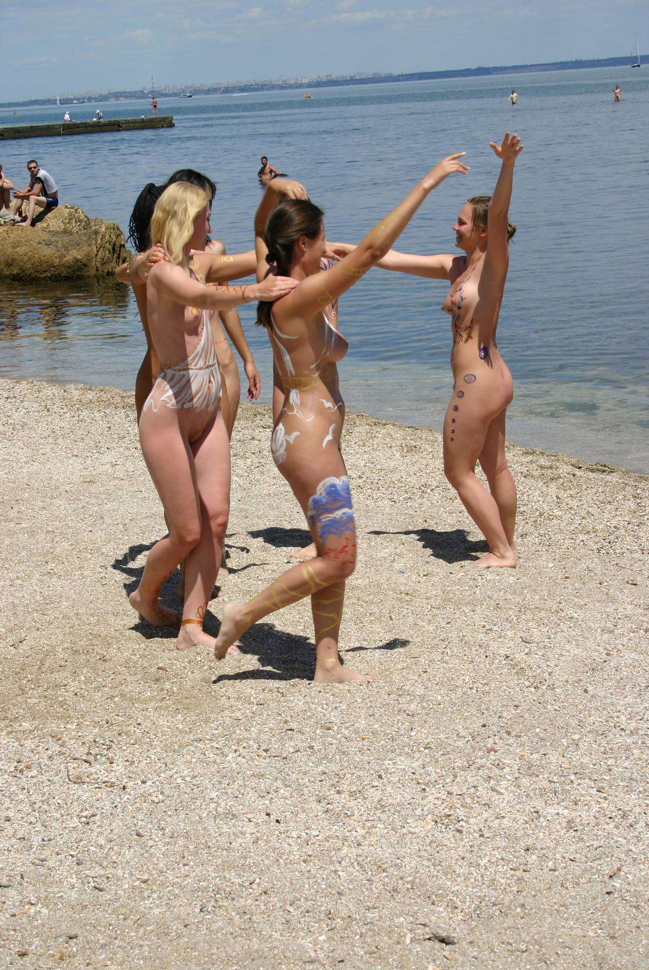 Nudist Pictures Dancing to the Nudist God - 1