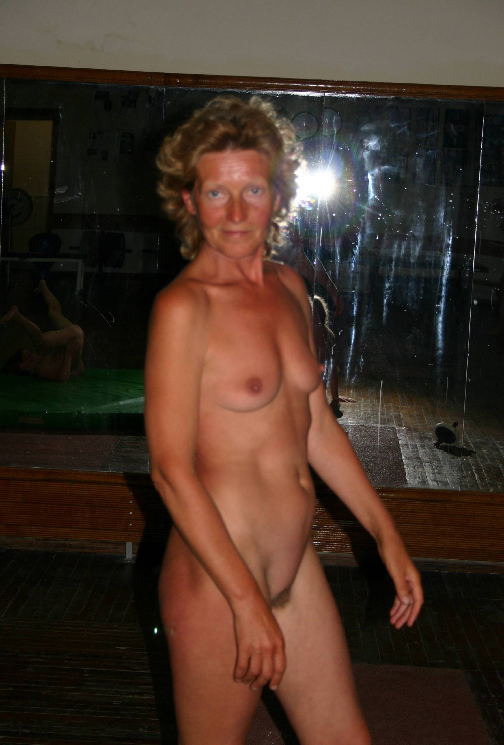 Nudist Photos Family Nudist Gym Shots - 2