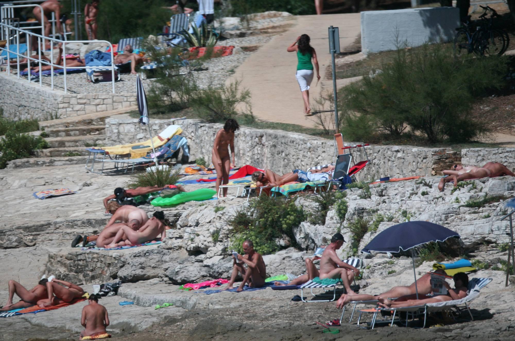 Far Nudist Beach Look-Out - 1