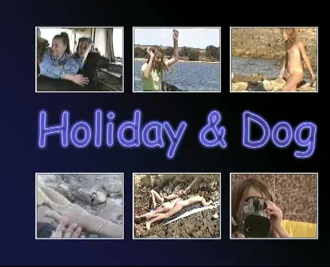 Nudist Movies Holiday and Dog - Poster