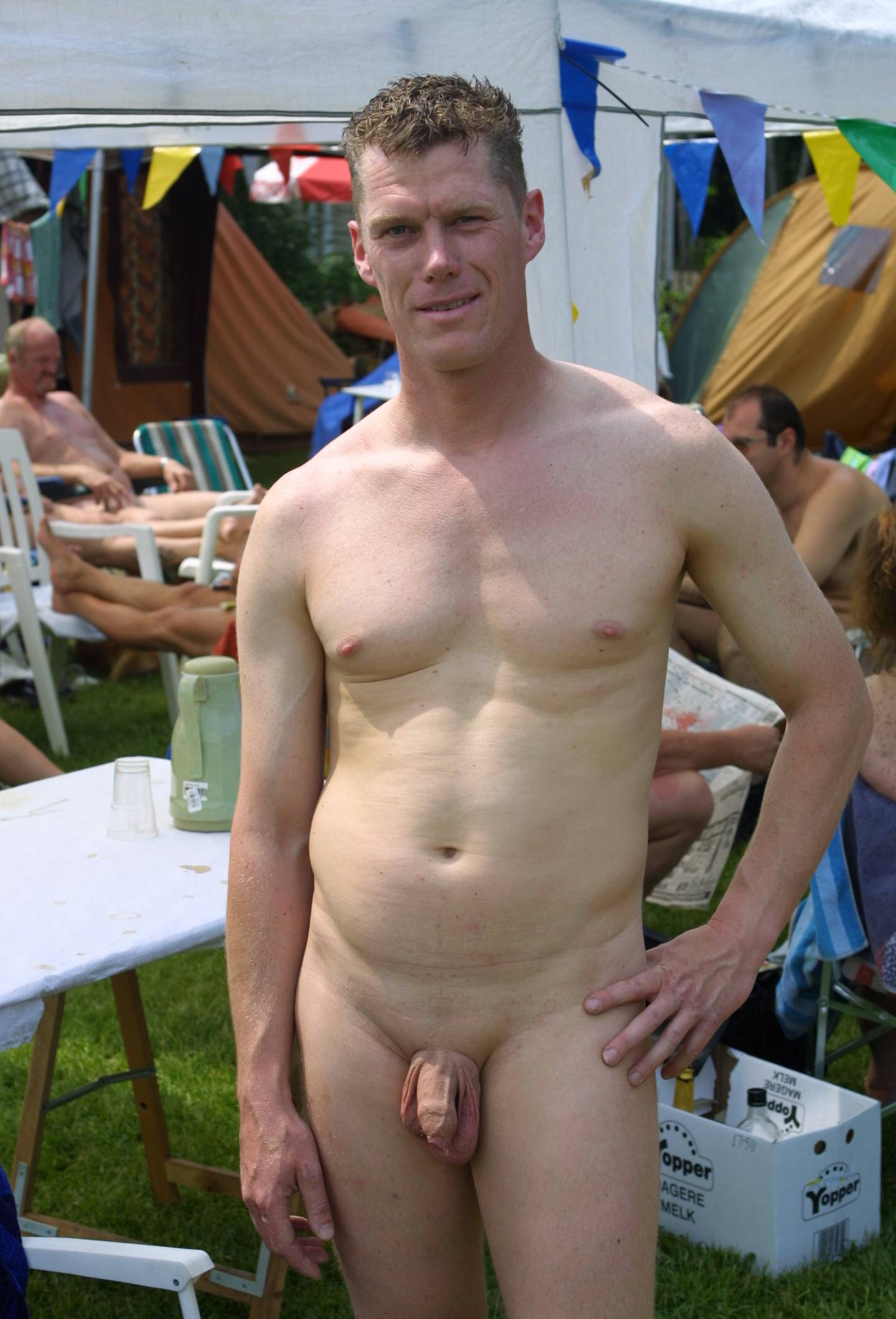 Nudist Pics Holland Picnic Relaxation - 2