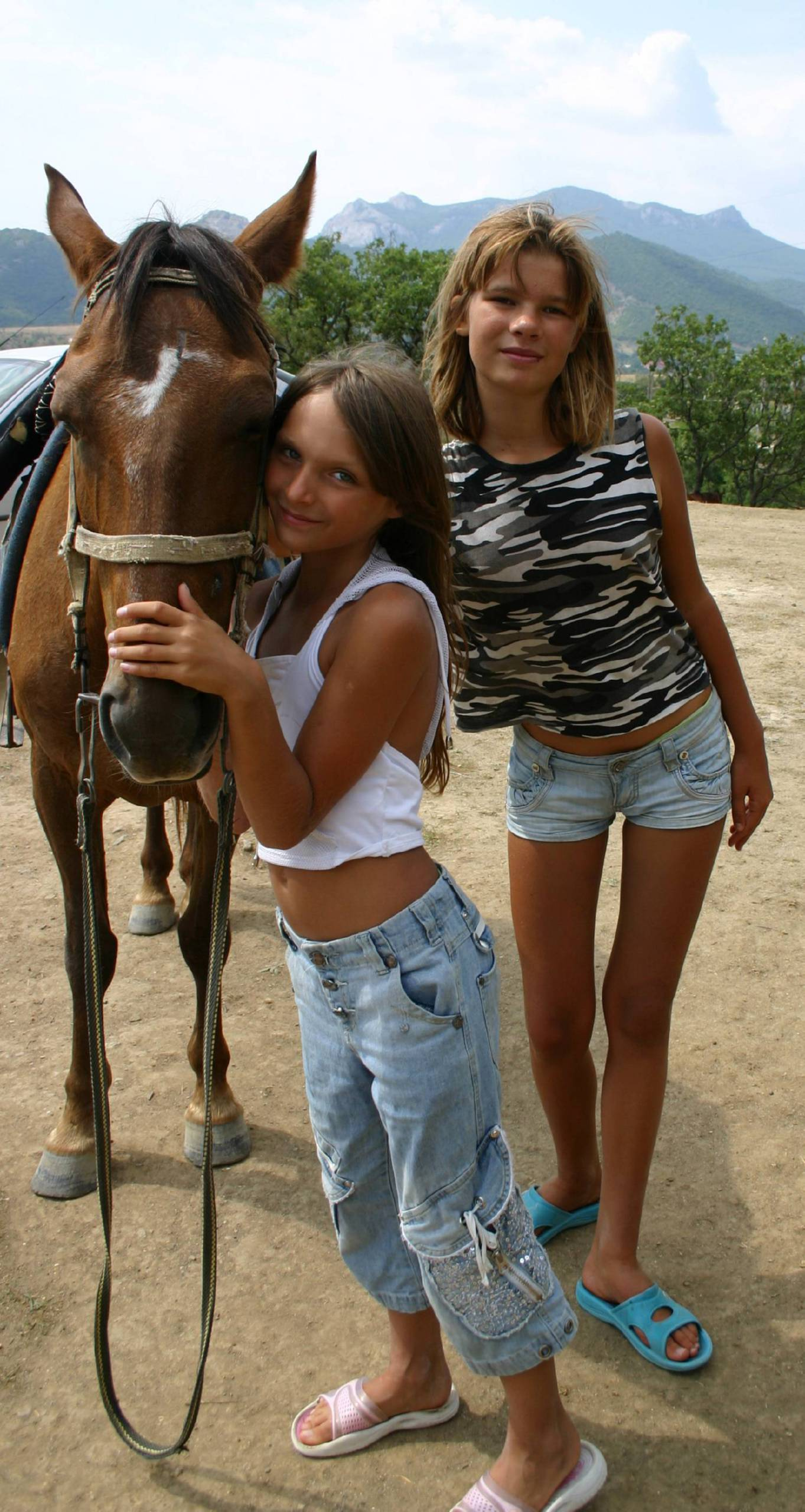 Nudist Gallery Horses Close and Personal - 2