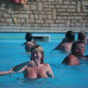 Inside Nudist Pool Waters