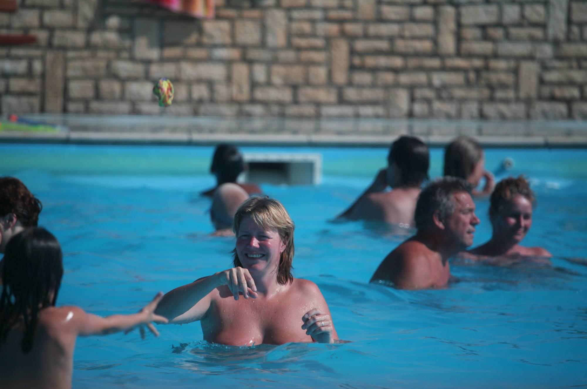 Nudist Gallery Inside Nudist Pool Waters - 1