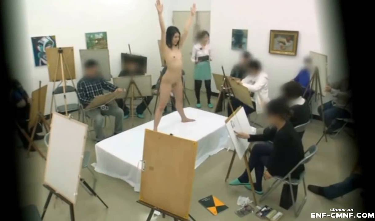 Nudist Videos Japanese Nude Art Class - 2