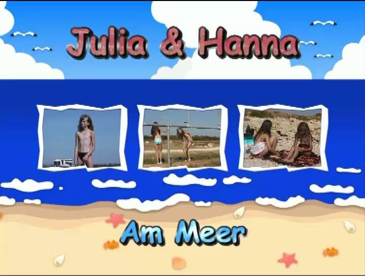FKK Videos Julia and Hanna Am Meer - Poster