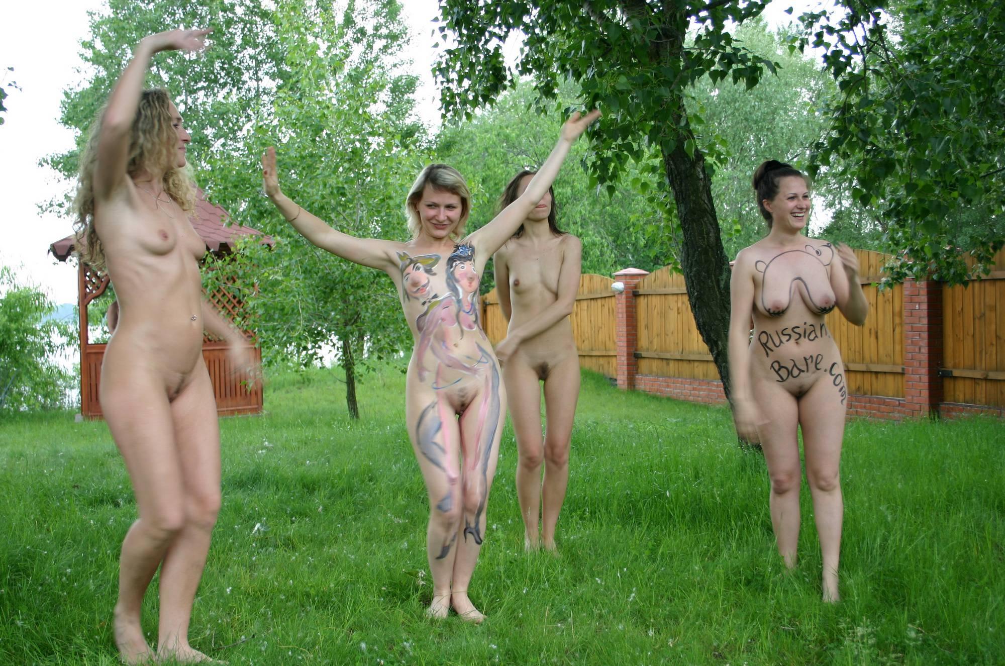Nudist Gallery Kiev Backyard Greens Play - 1