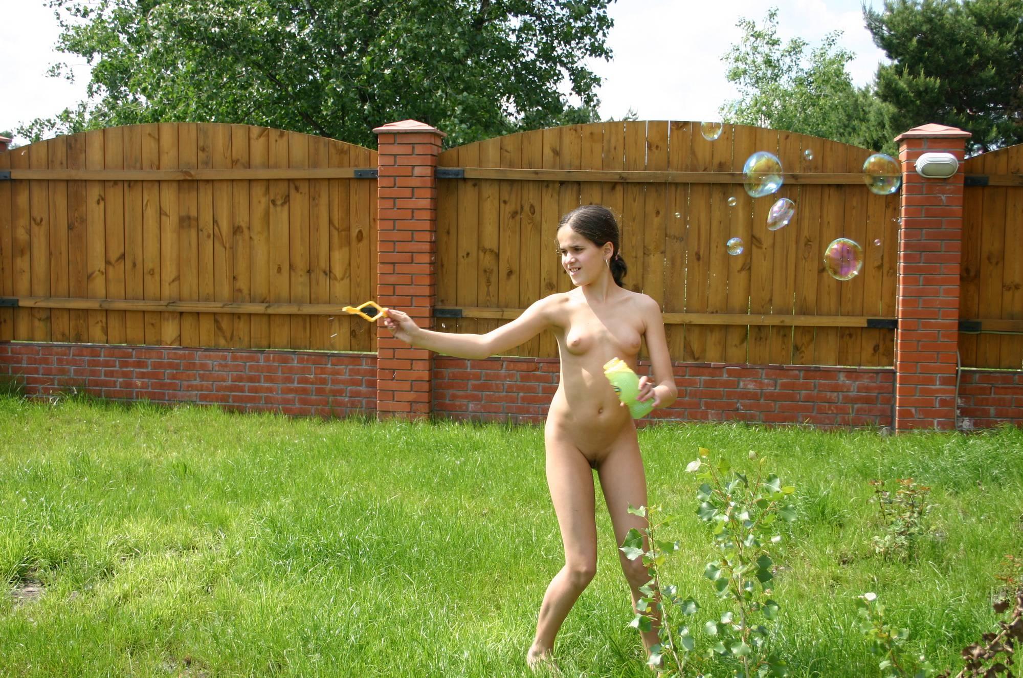 Nudist Pics Kiev Backyard Greens Play - 2