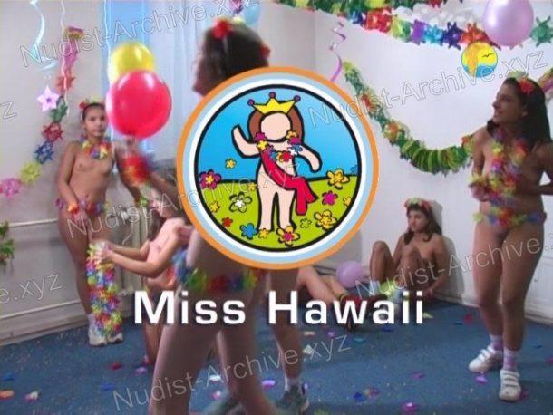 Miss Hawaii - shot