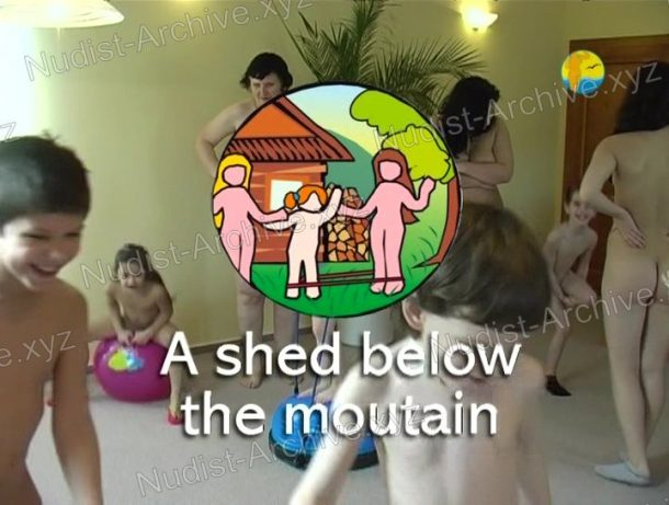 Snapshot A shed below the mountain