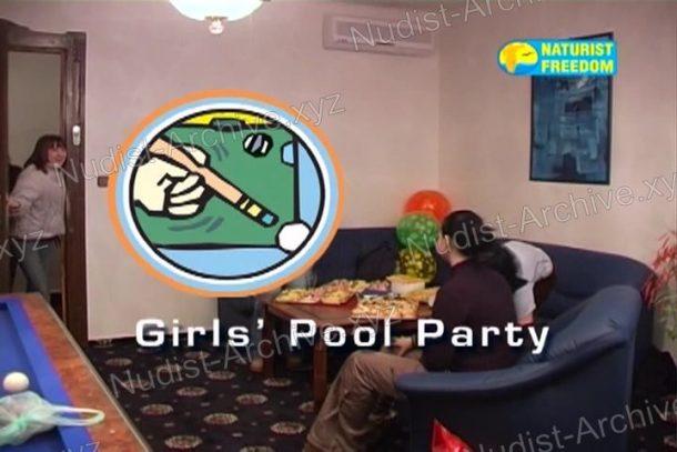Snapshot Girls' Pool Party