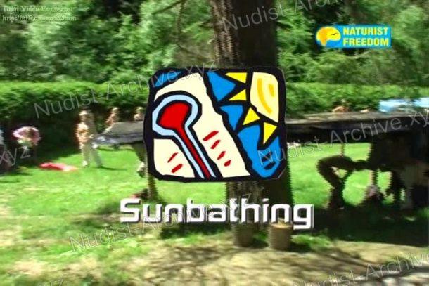 Sunbathing - frame