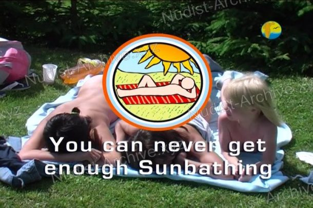 You can never get enough Sunbathing - video still