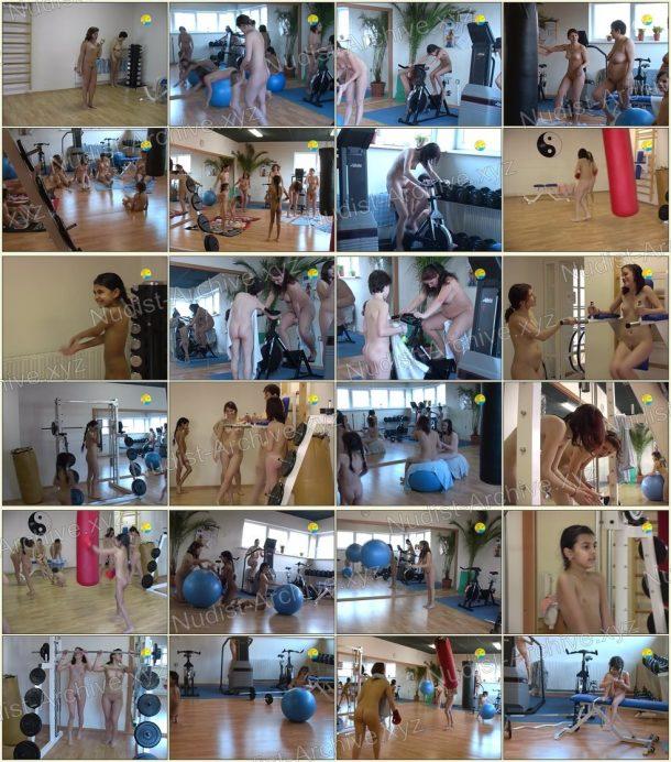 Frames Fitness Girls 1