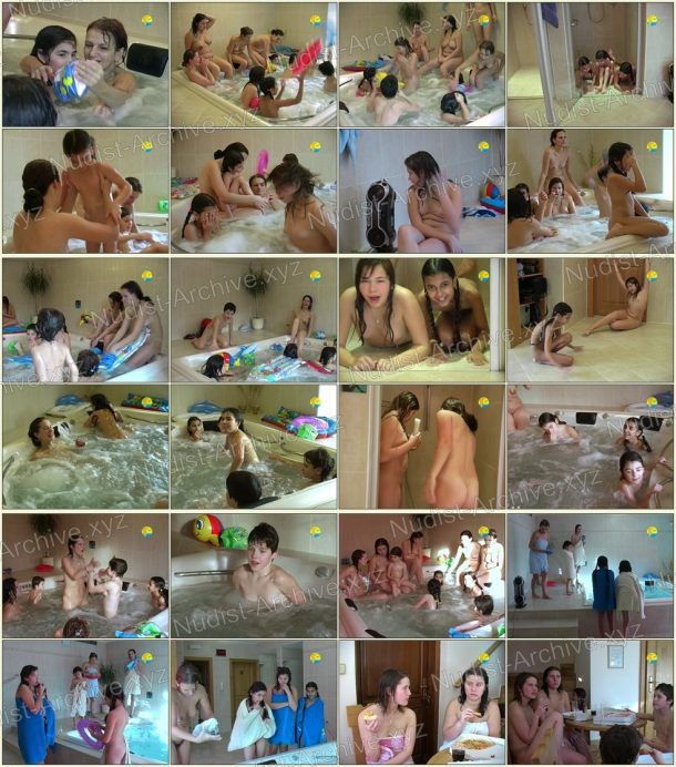 Film stills of Saturday in the Whirlpool 1