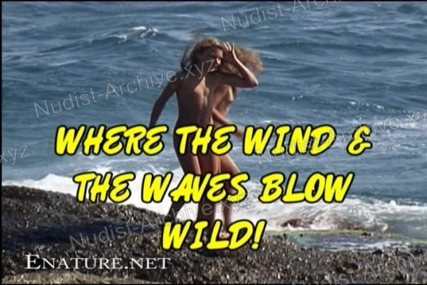 Frame Where the Wind and the Waves Blow Wild!