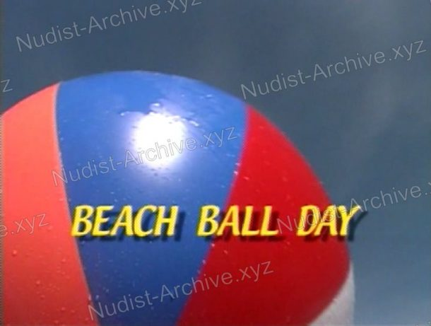 Beach Ball Day video still