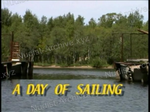 A Day of Sailing - cover