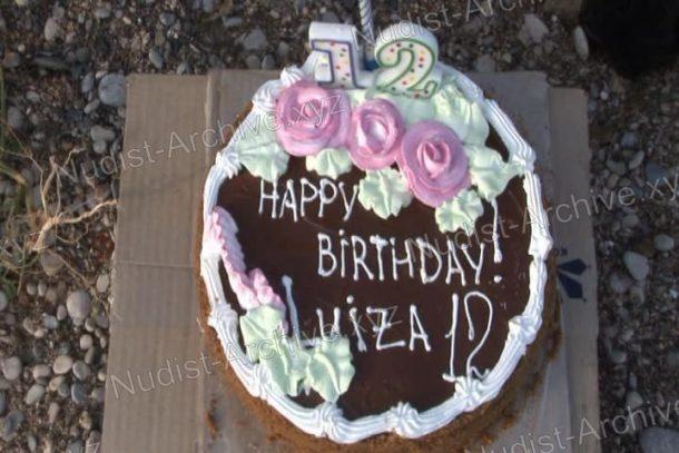 Snapshot Happy Birthday Luiza