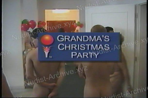 Grandma's Christmas Party - frame