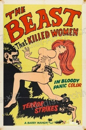 Cover The Beast That Killed Women 1965