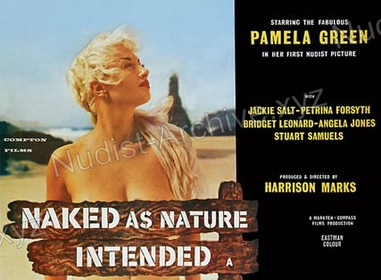 Naked as Nature Intended 1961 cover