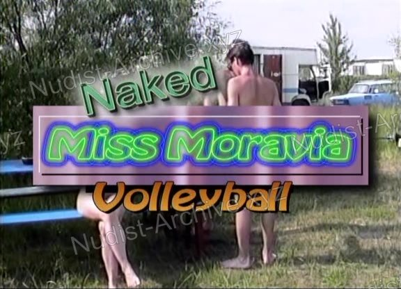 Naked Miss Moravia Volleyball snapshot