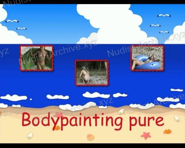 Frame Bodypainting pure
