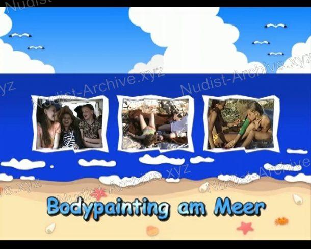 Screenshot of Bodypainting am Meer
