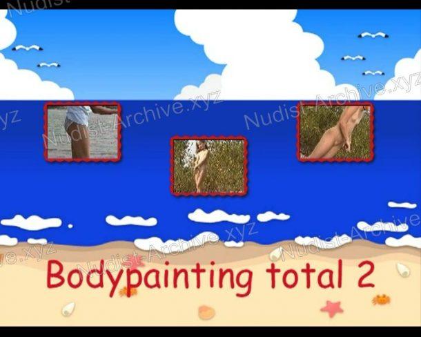 Video still Bodypainting total 2