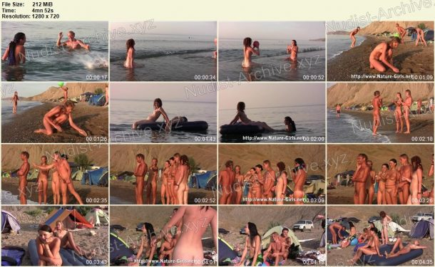 Shots Young Naturists on a Nudist Beach - Nature-Girls.net 1