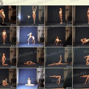 Naked Gymnast - Margo 05.03.2010