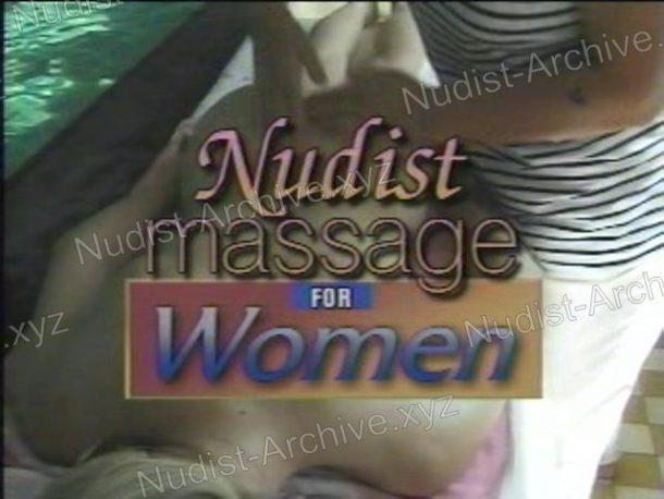 Shot Nudist Massage for Women