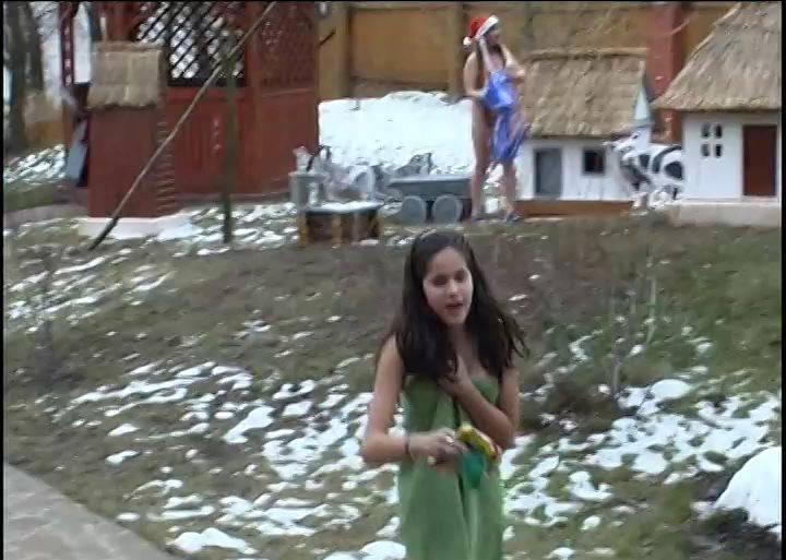 RussianBare Naked in a Winter Wonderland - 2