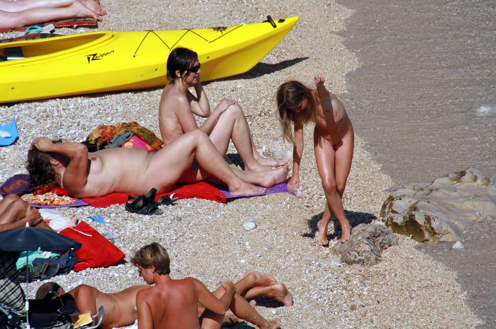 Nudist Photos Naturist Beach Relaxation - 1