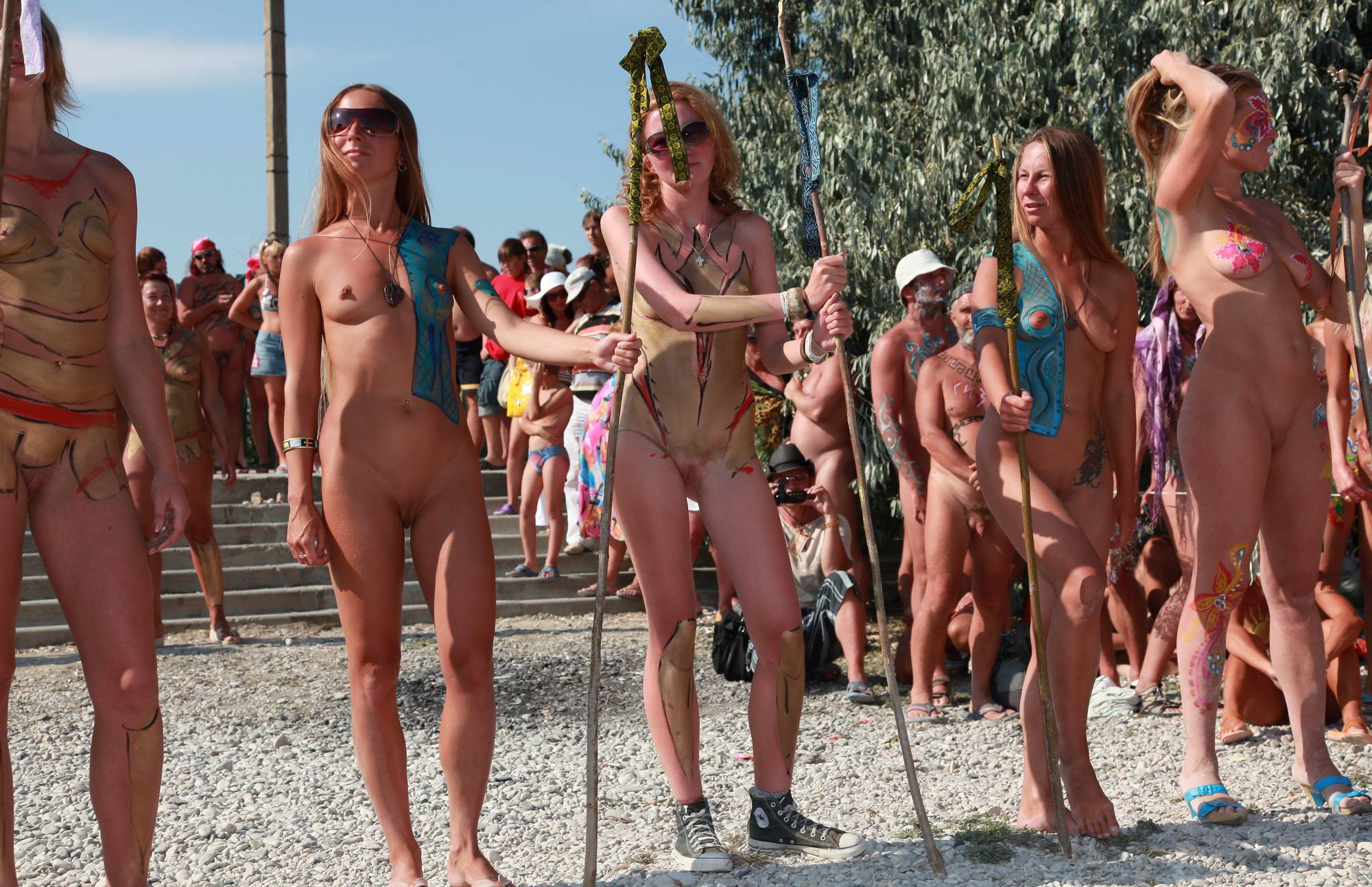 Nudist Gallery Naturist Day From Behind - 1