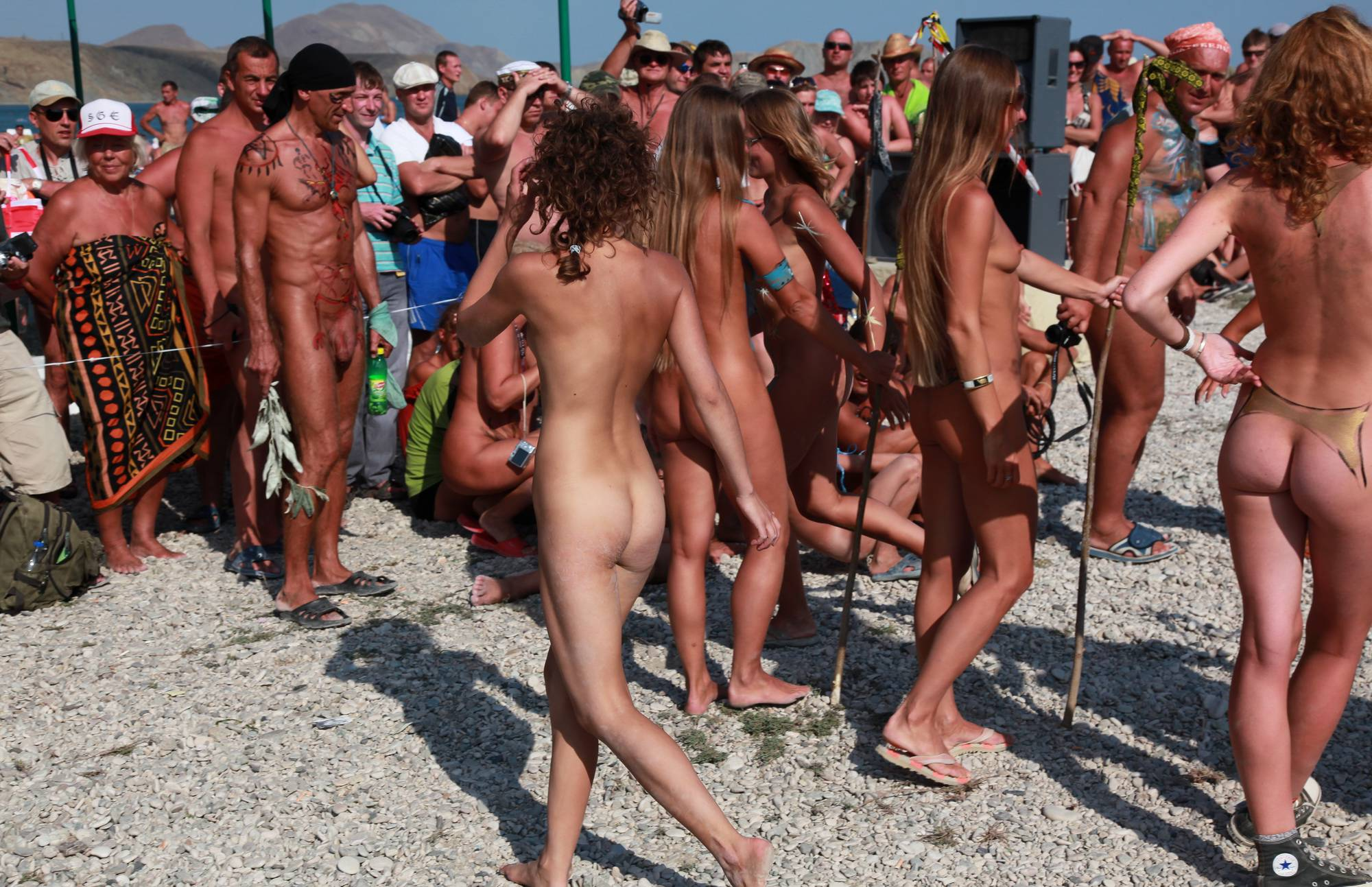 Nudist Pictures Neptune Bodypaint Lineup - 1