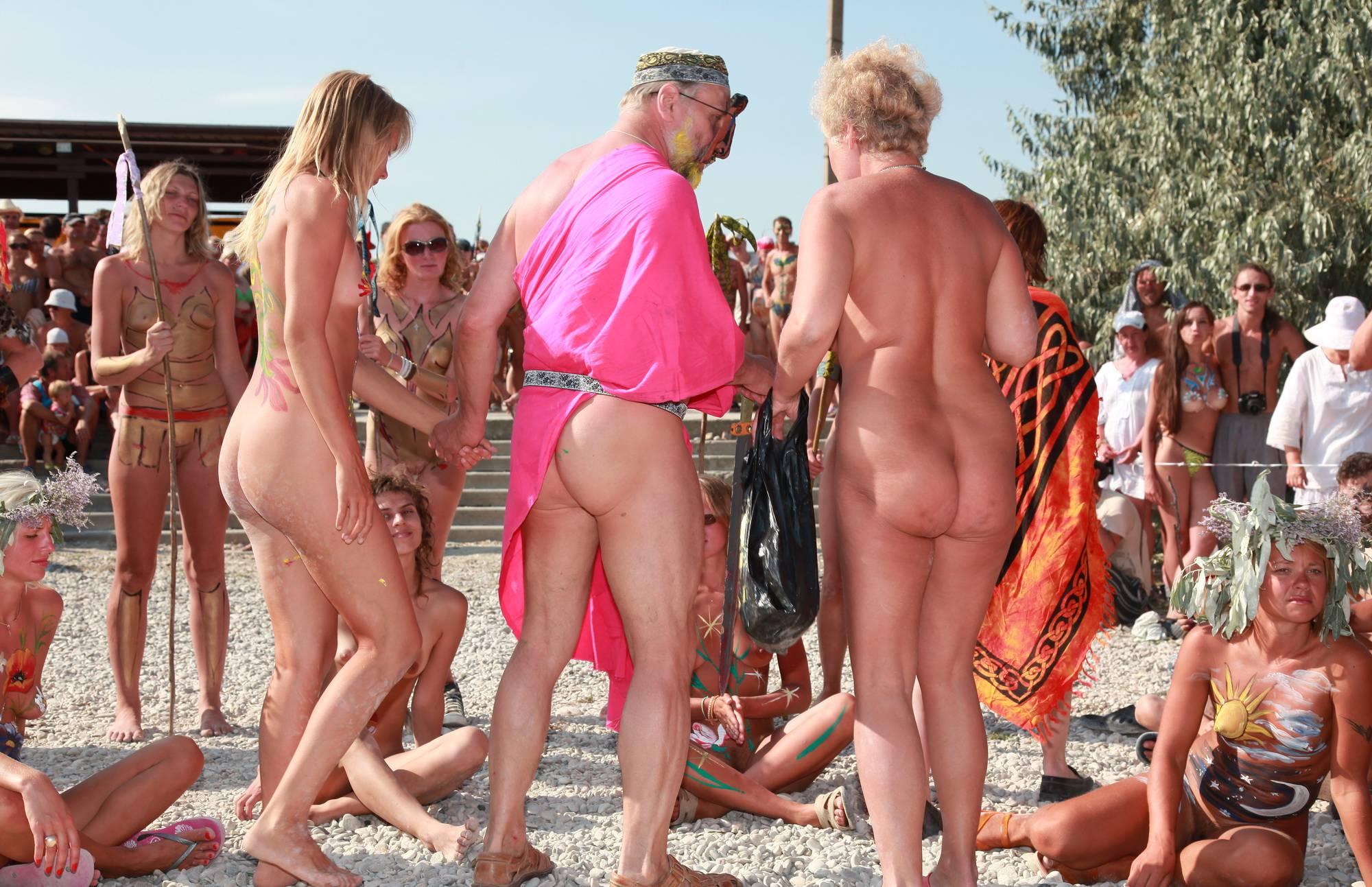 Nudist Pictures Neptune Bodypaint Lineup - 2
