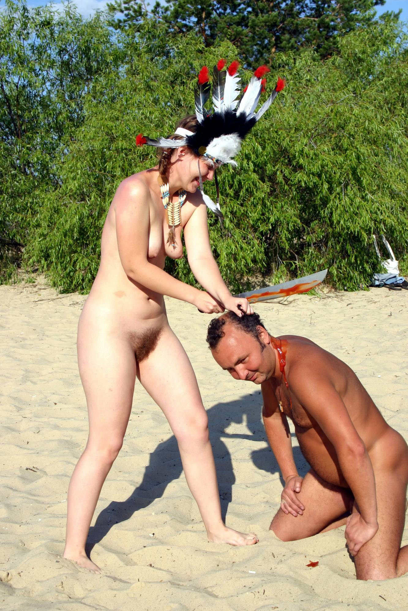 Nudist Pictures Nude Dress Battles Begin - 1