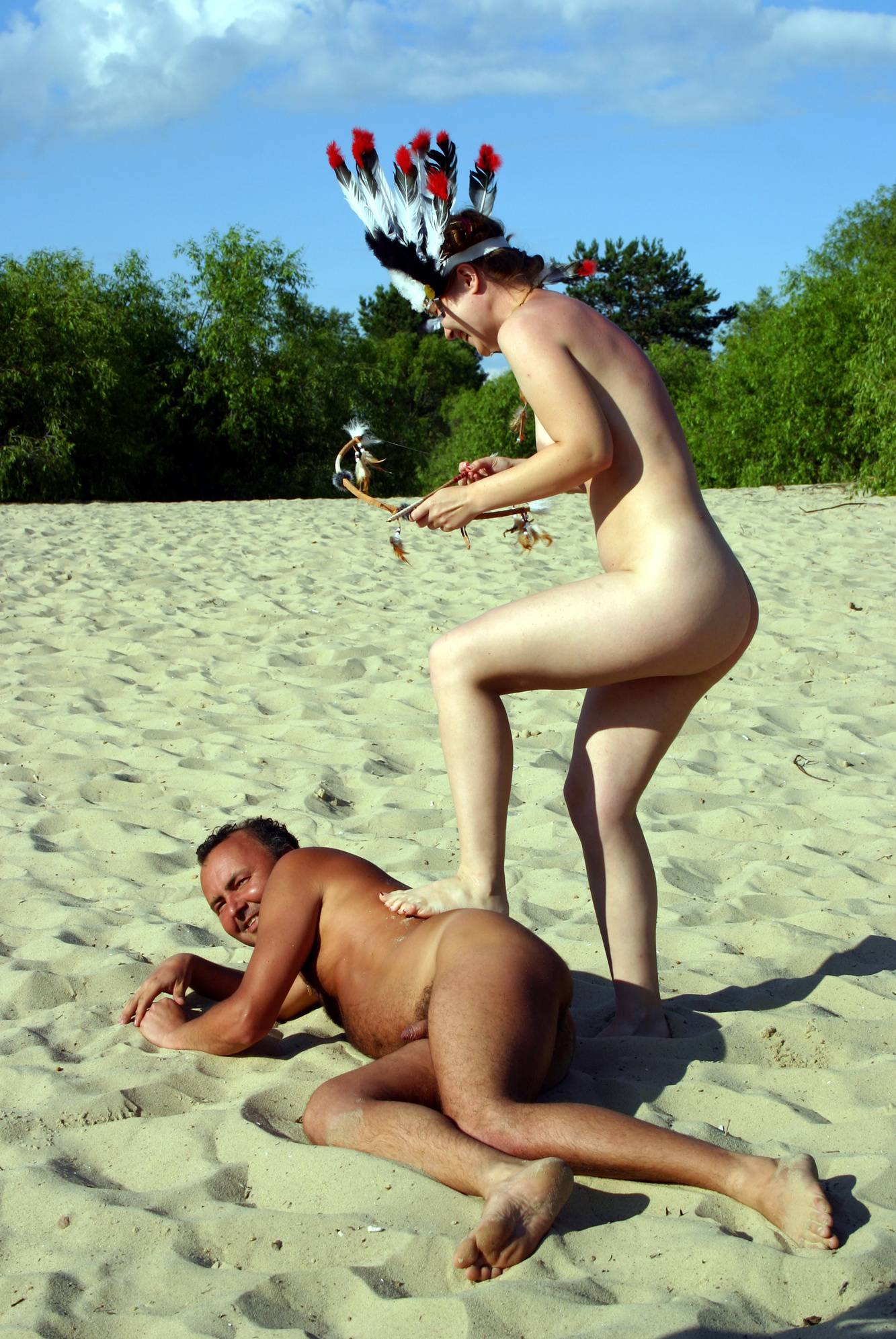 Nudist Pics Nude Dress Battles Begin - 2