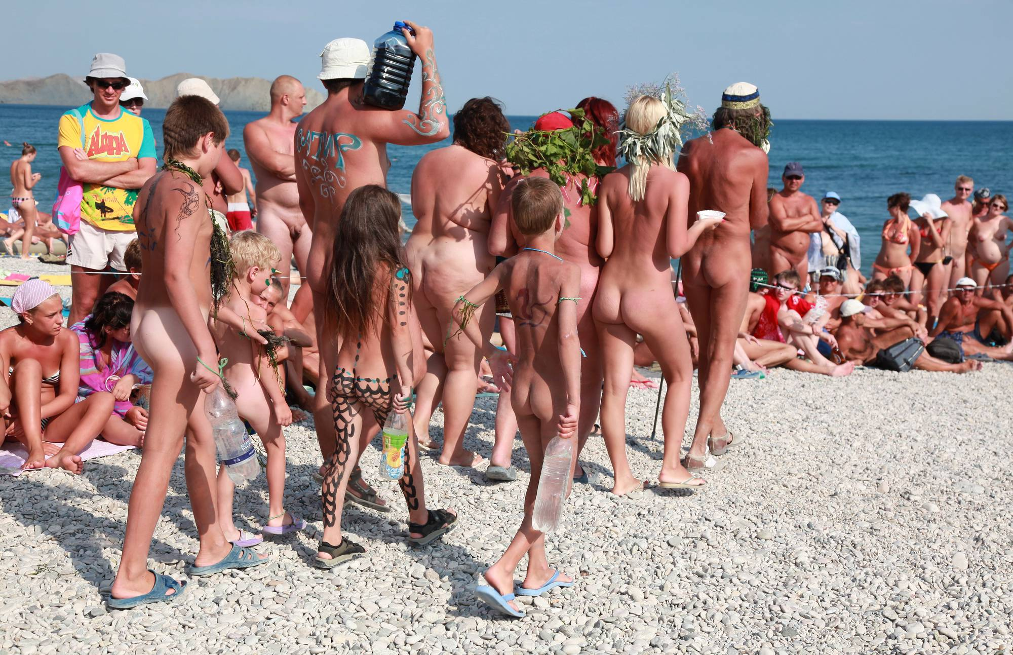 Nudist Gallery Nude Group Presentation - 1