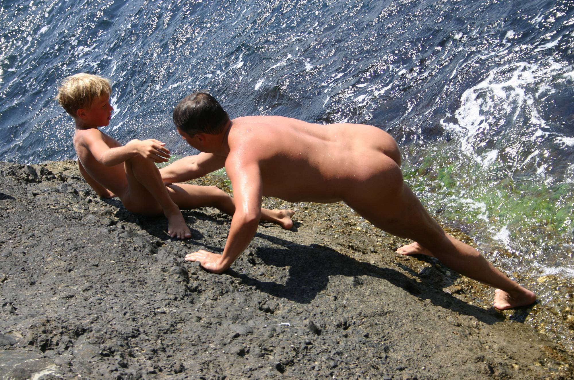 Nudist Pictures Naturist Rock Adventures - 2